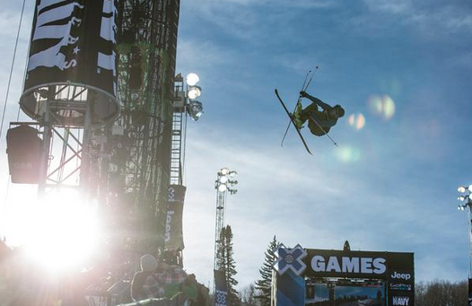 Oslo X Games dropping in three..two...NOW. Screenshot from X Games Twitter page.