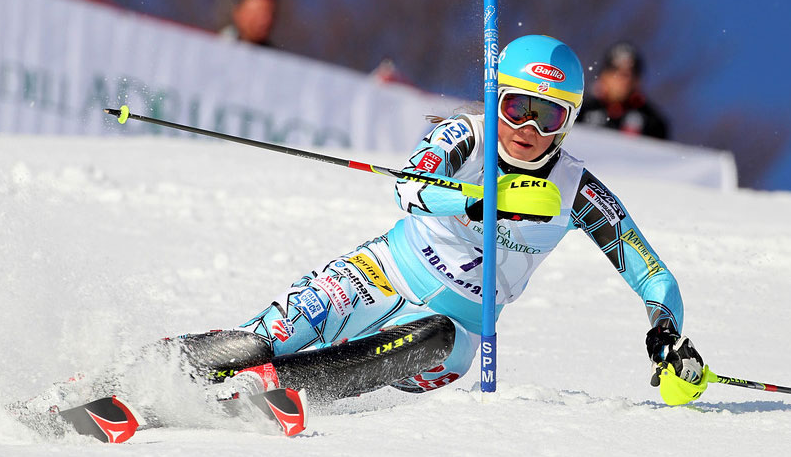 Mikaela Shiffrin, who has won three slalom Globes, has twice stood on the podium at Levi. PHOTO: U.S. Ski Team