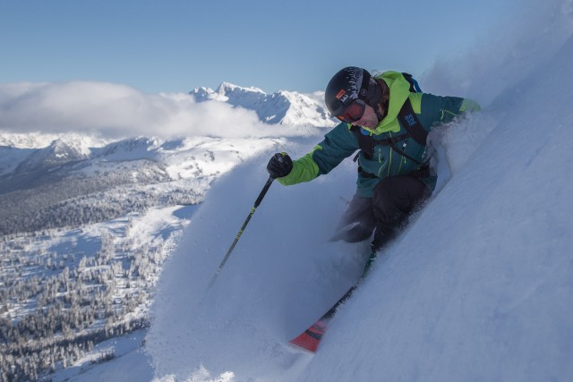 PHOTO: Courtesy of Whistler Blackcomb; Photographer: Paul Morrison; Athlete: Matty Richard.