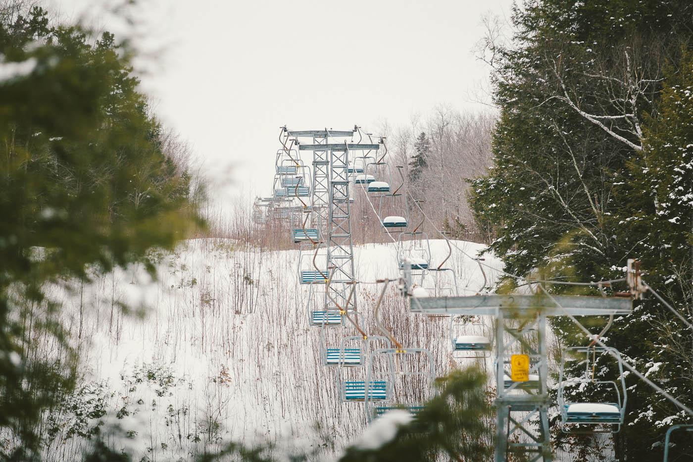 This old lift will spin once again, starting this winter. PHOTO: Justin Cash