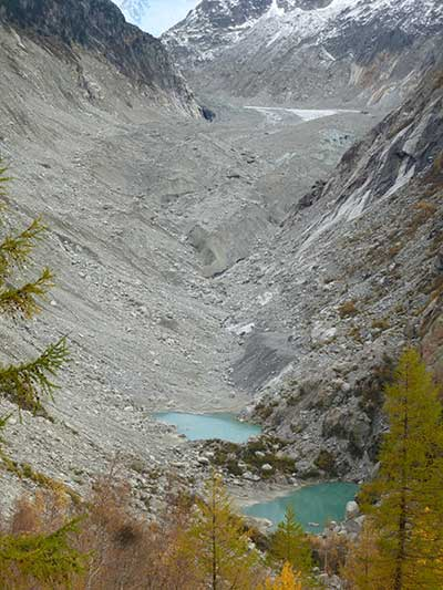 The Mer de Glace in 2014. PHOTO: Luc Moreau