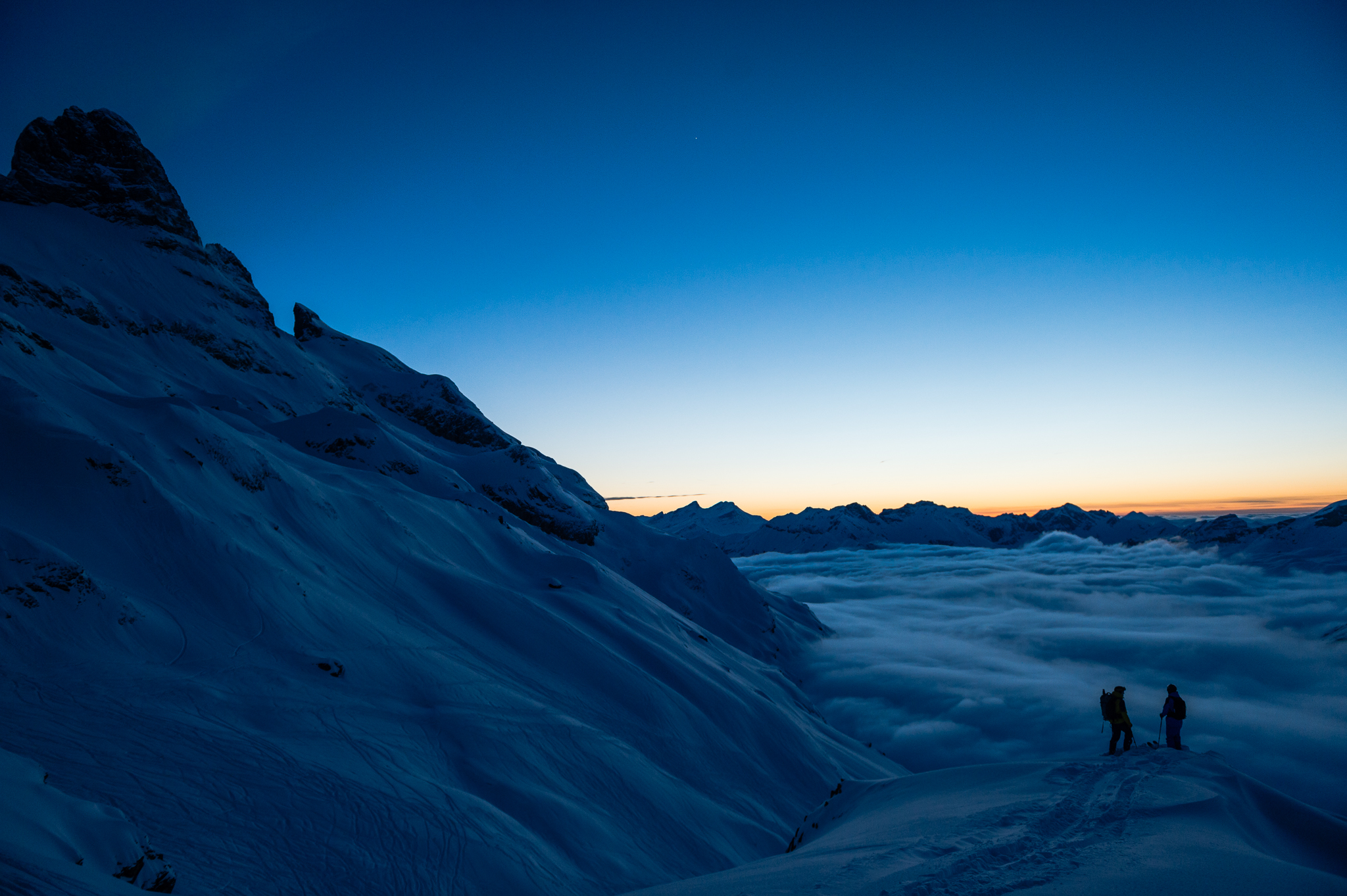 The Swiss are driven by time; their mountains run on forever. PHOTO: Mattias Fredriksson