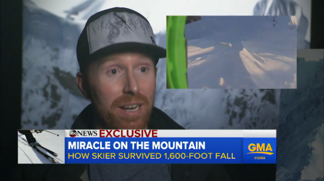 "Ian McIntosh discusses his fall on ""Good Morning America."""