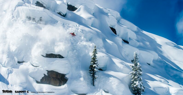 Carlson proving he's not a one-trick park rat.  PHOTO: TGR.