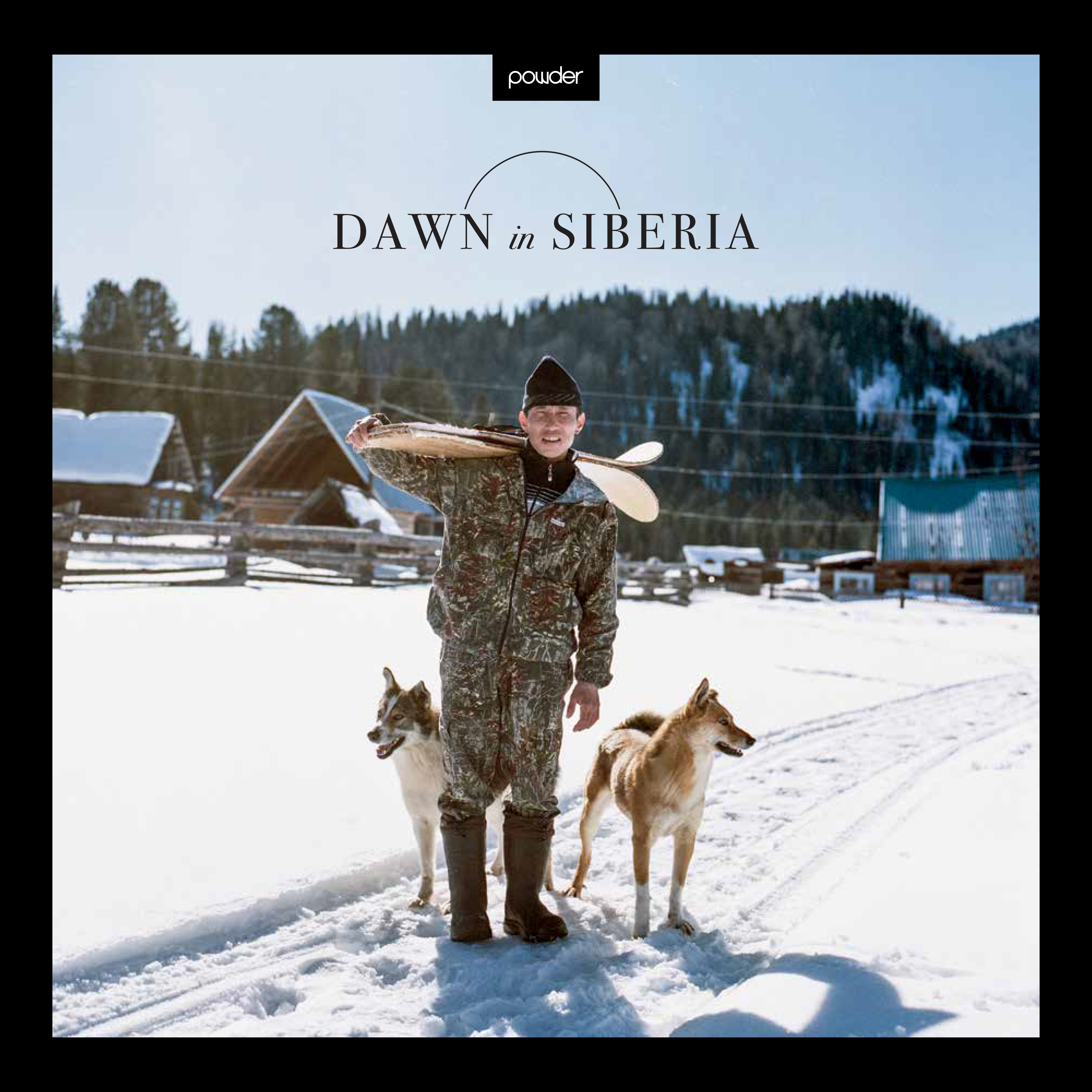 Introducing Dawn In Siberia, POWDER's first book.