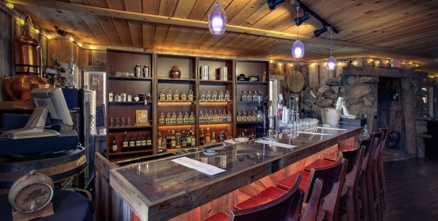 Pull on your cleanest flannel and let's go get a drink. PHOTO: Tahoe Moonshine Distillery & Speakeasy
