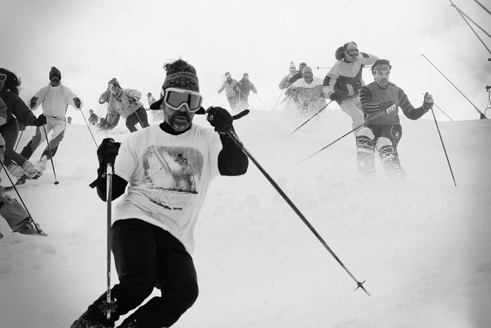 Yeah, if you can't ski them, moguls do suck. But try telling these guys that. PHOTO: Alexa Miller