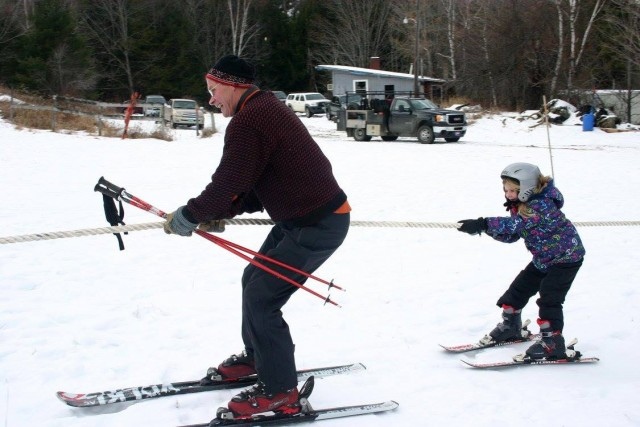 Giddy-up! The rope tow will be open for public use Jan. 9. PHOTO: Felicity Knight