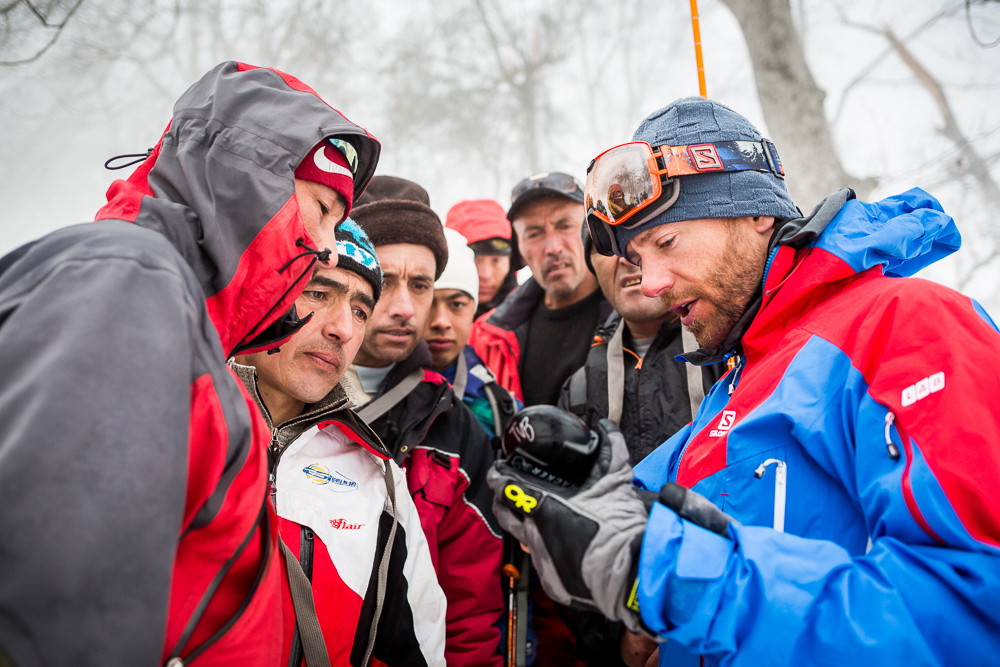 G4G supplies local skiers with tools and know-how to share with their communities. PHOTO: Pierre Augier