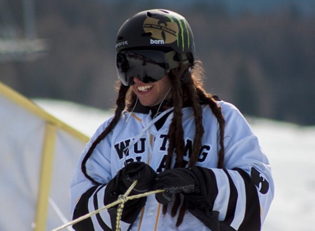 So how did a dreadlocked freestyler from Sweden become the Wu Tang Clan's favorite skier? PHOTO: Henrik Harlaut's Instagram.