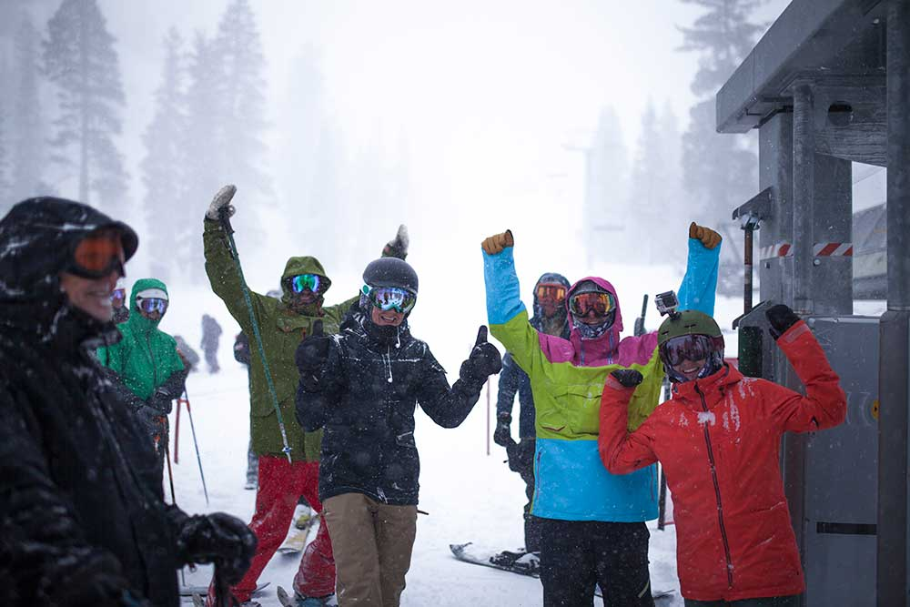 Locals, the best and the worst. PHOTO: Courtesy of Squaw Alpine