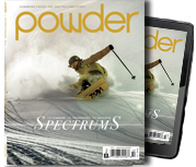 Subscribe to Powder Magazine
