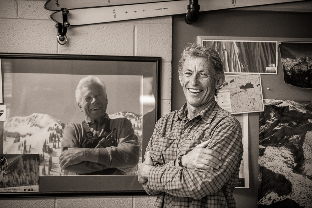 Wieringa will shape the future of Alta. But he'll always lean on the vision of his predecessors, like Binx Sandahl. PHOTO: Scott Markewitz