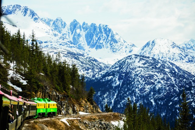 The same train that ferried miners' gold provides access to rare wilderness skiing.