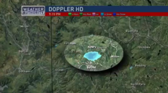 That's some serious firepower, Sunday River. Screenshot taken from video.
