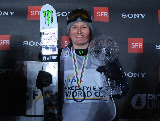 Winner of the freestyle overall crystal globe, Logan really is the best skier on the mountain. PHOTO: Kielpinski/FIS