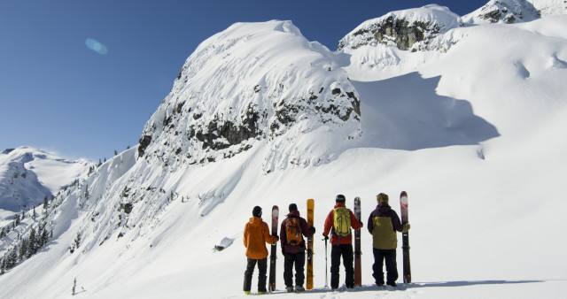The 'Seeking Nirvana' crew found a lot of what it was looking for this winter. PHOTO: Seeking Nirvana