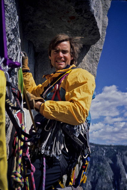 On Yosemite's El Cap, Alex could lead pitches three times as fast, haul, eat, and fix the next four pieces in the same time. He was known as The Fiend.