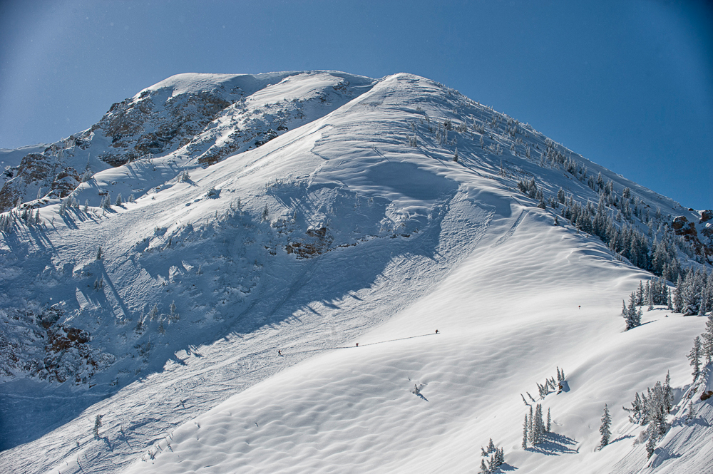 A tram to the top of Mount Baldy? That may come sooner than you think. PHOTO: Lee Cohen