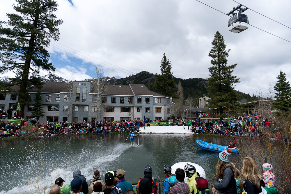 In its 26th year, the Cushing Crossing started as an annual spring tradition among Squaw Valley's ski patrollers. PHOTO: Hank de Vre