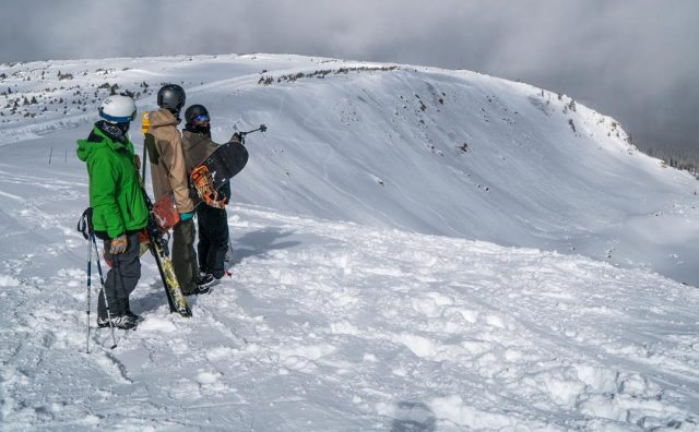 Reminder: Skiing in-bounds does not make us immune to avalanche risk. PHOTO: Courtesy of Winter Park