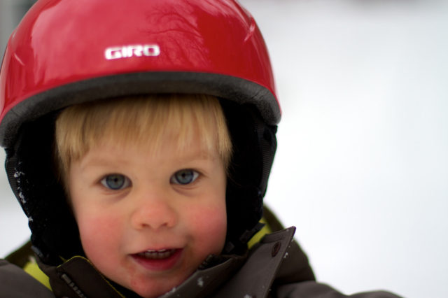 A bill that would require children 14 and under to wear helmets when skiing or snowboarding in the state of New York has failed. PHOTO: Courtesy of Meg Hourihan
