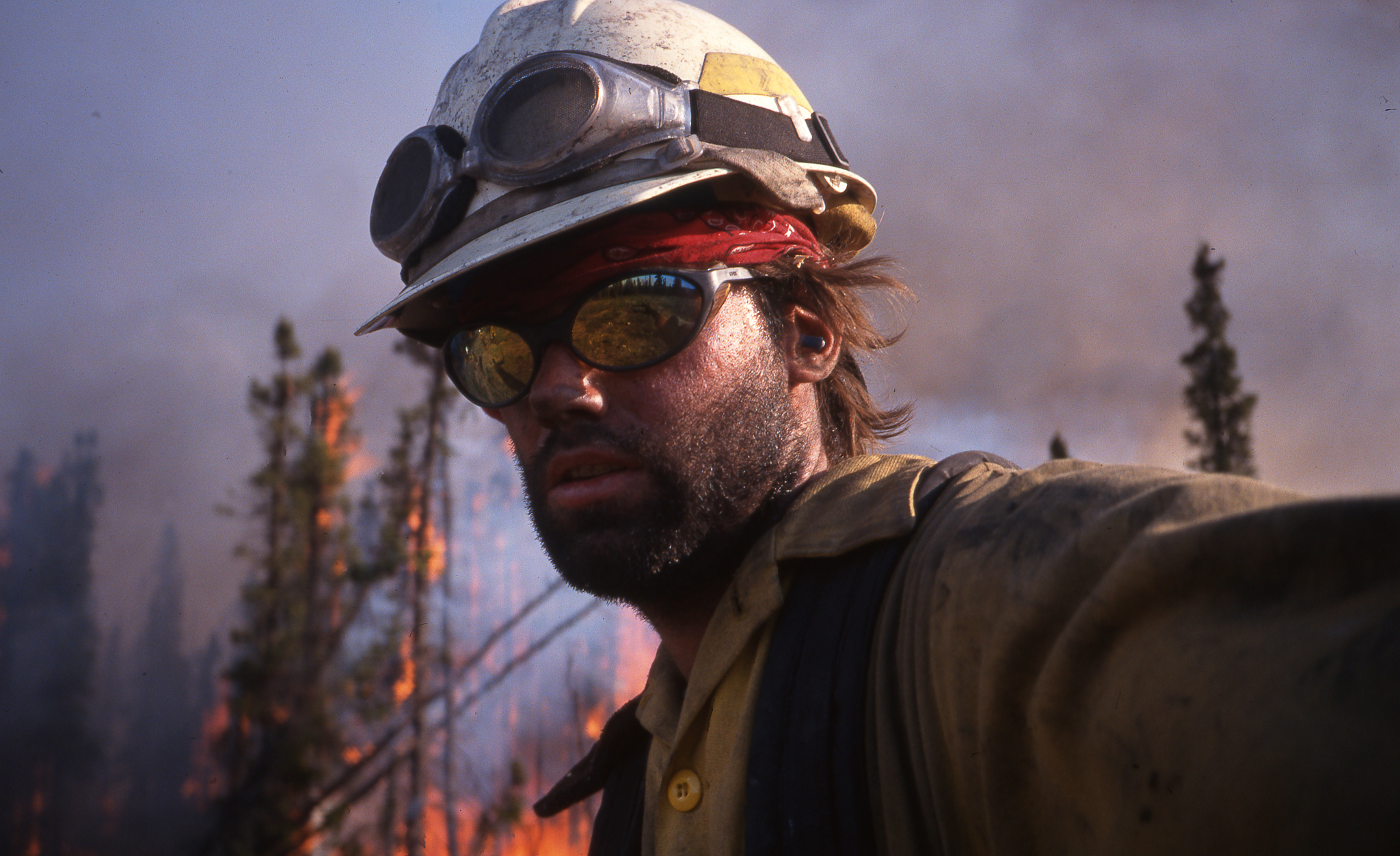 Figenshau fought fires to launch his career as a photographer. PHOTO: Chris Figenshau