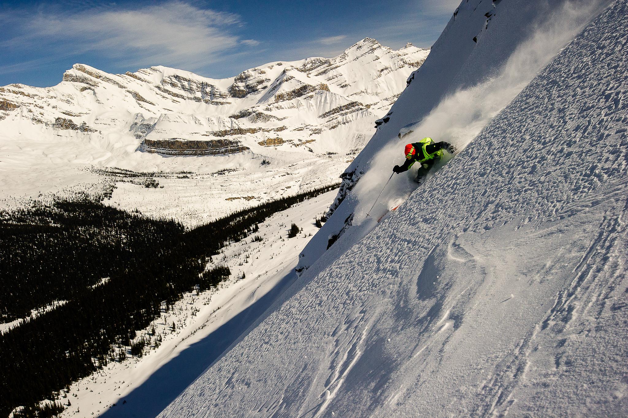 Skier: Sean Cochrane Location: Amiskwi Lodge, Rocky Mountains, AB