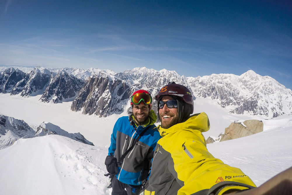 All smiles on the summit. Photo courtesy of Noah Howell.
