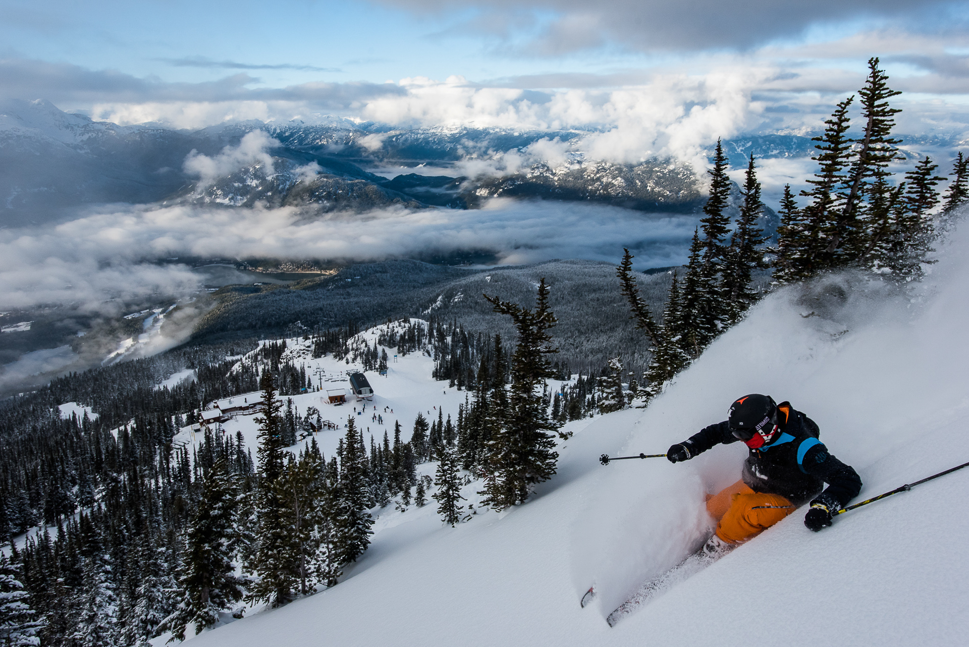 Today's announcement of Vail's most recent purchase is a landmark in Whistler's history. The move is a sign of the times for ski resorts facing pressure to diversify in the face of climate change, but the skiing will stay the same. Or so we hope. PHOTO: Reuben Krabbe
