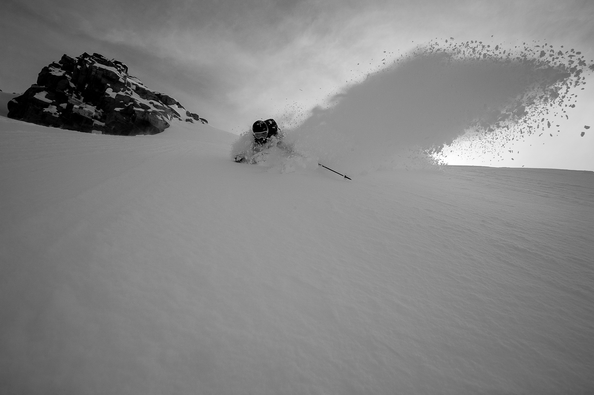 Skier: Austin Ross Location: Duffey Lake, BC