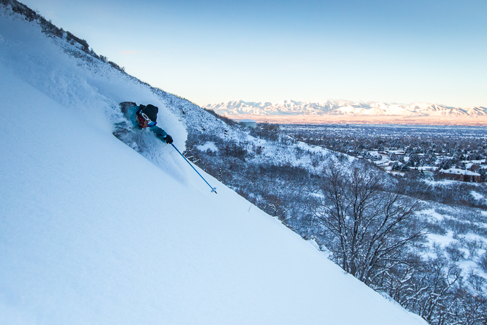 Good news, skiers. Salt Lake City announced a resolution to clean up it's air pollution and greenhouse gas emissions. That's a step in favor of snow. PHOTO: Jay Dash