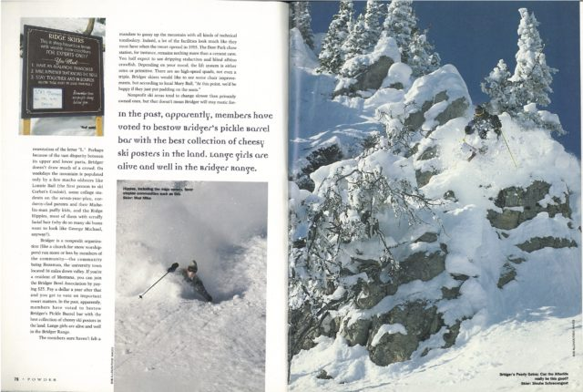 Little Areas That Rock - Bridger Bowl 2