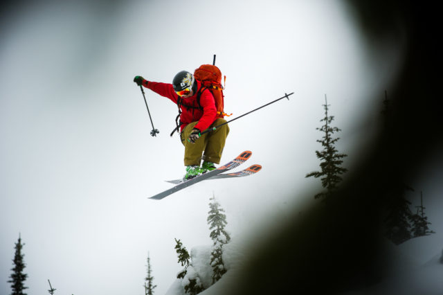One of the youngest snow-safety professionals in Canada, Marty Schaffer lets his youthful spirit fly. PHOTO: Bruno Long