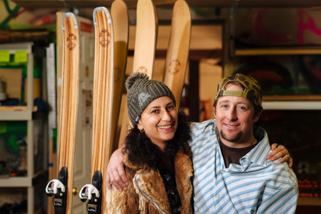 Caleb Baukol and his life partner, Bex. PHOTO: Tal Roberts