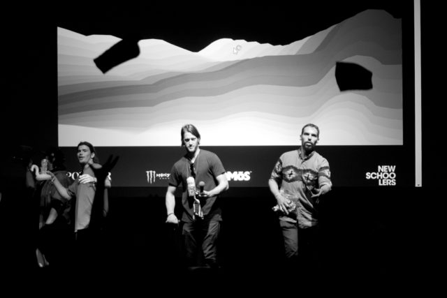 Level 1's 17th ski film, Pleasure, headlined First Chair Festival in Salt Lake City. PHOTO: David Reddick