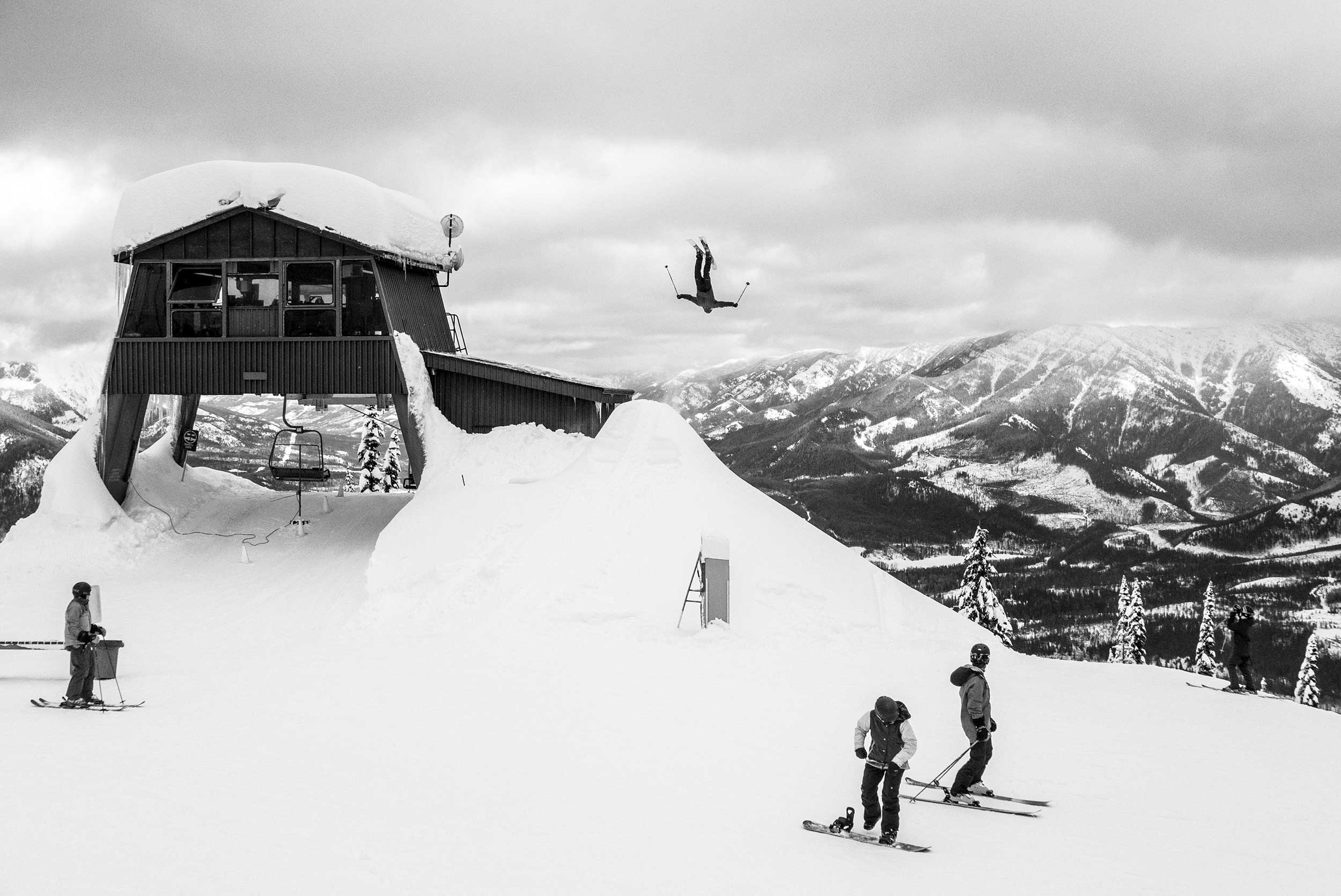 One of Heule's biggest influencers was Anthony Boronowski, who asked Heule to join the team for his company, Joystick Poles. PHOTO: Sämi Ortlieb