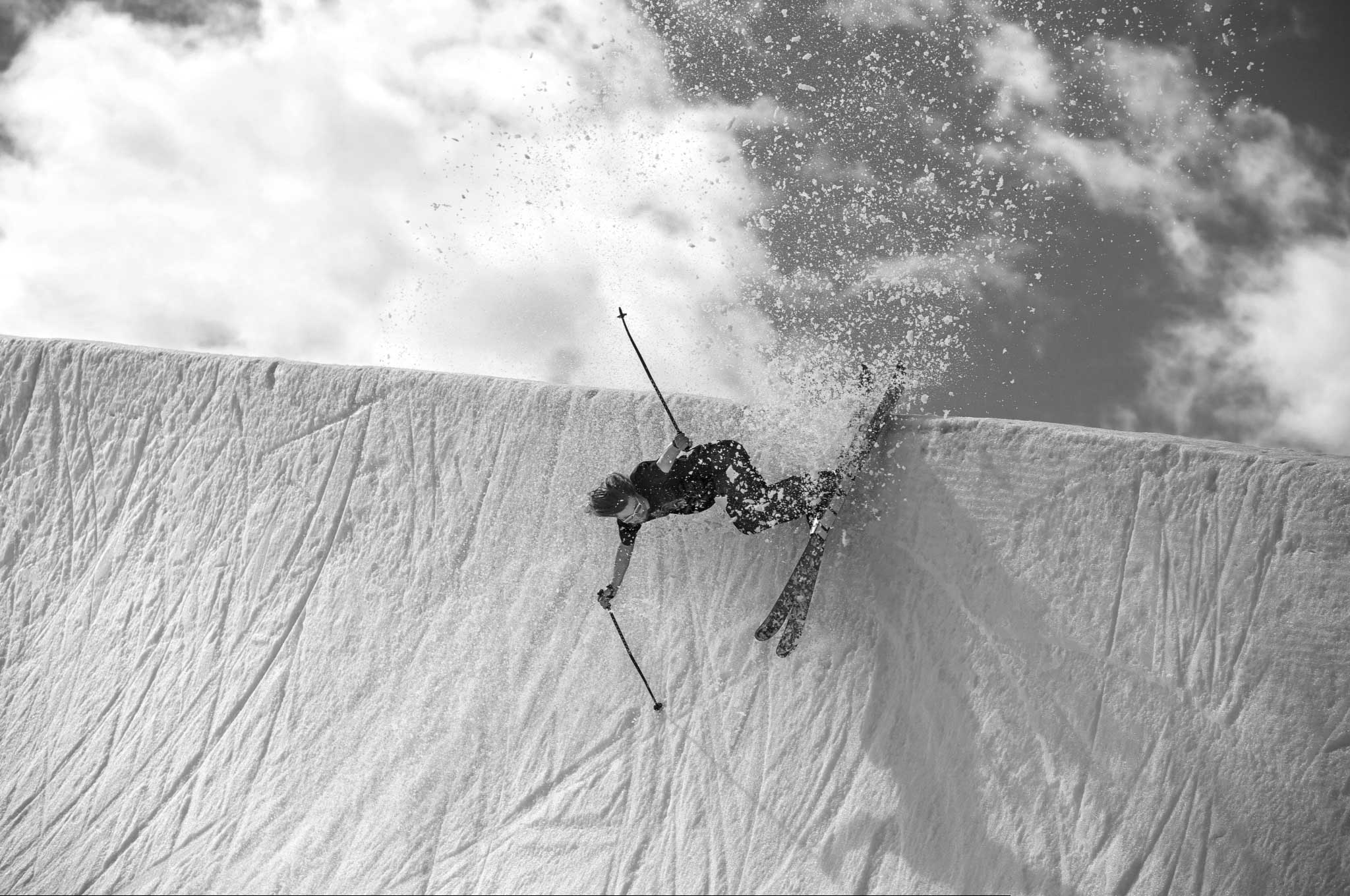"""Level 1's Freedle Coty pointed his lens on Heule last winter, bringing Heule into the Level 1 family with their film this year """"Pleasure."""" PHOTO: Dane Ulsifer"""