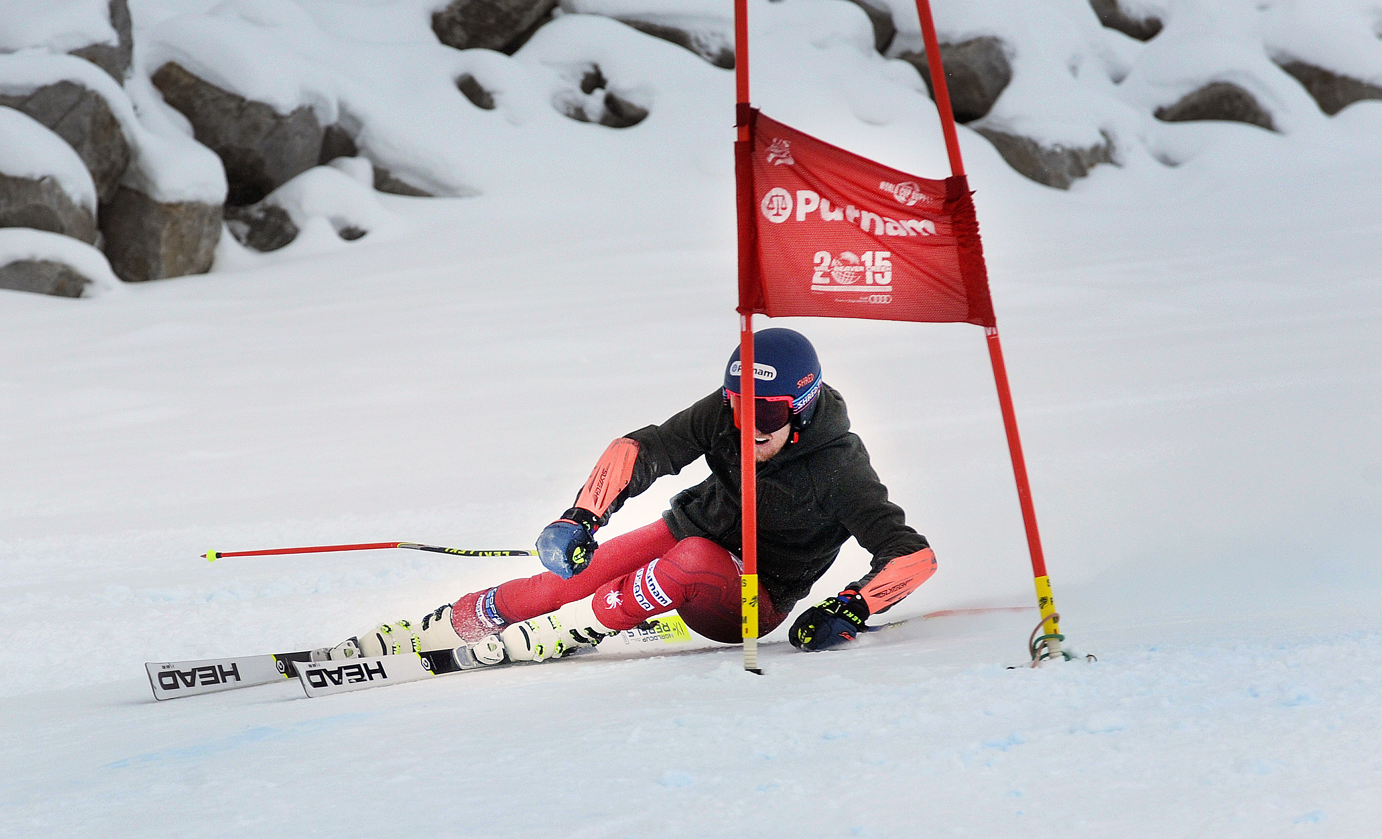 Ted Ligety trains for the Audi FIS Ski World Cup opener at Soelden, Austria on the Rettenbach Glacier. PHOTO: Tom Kelly/US Ski Team