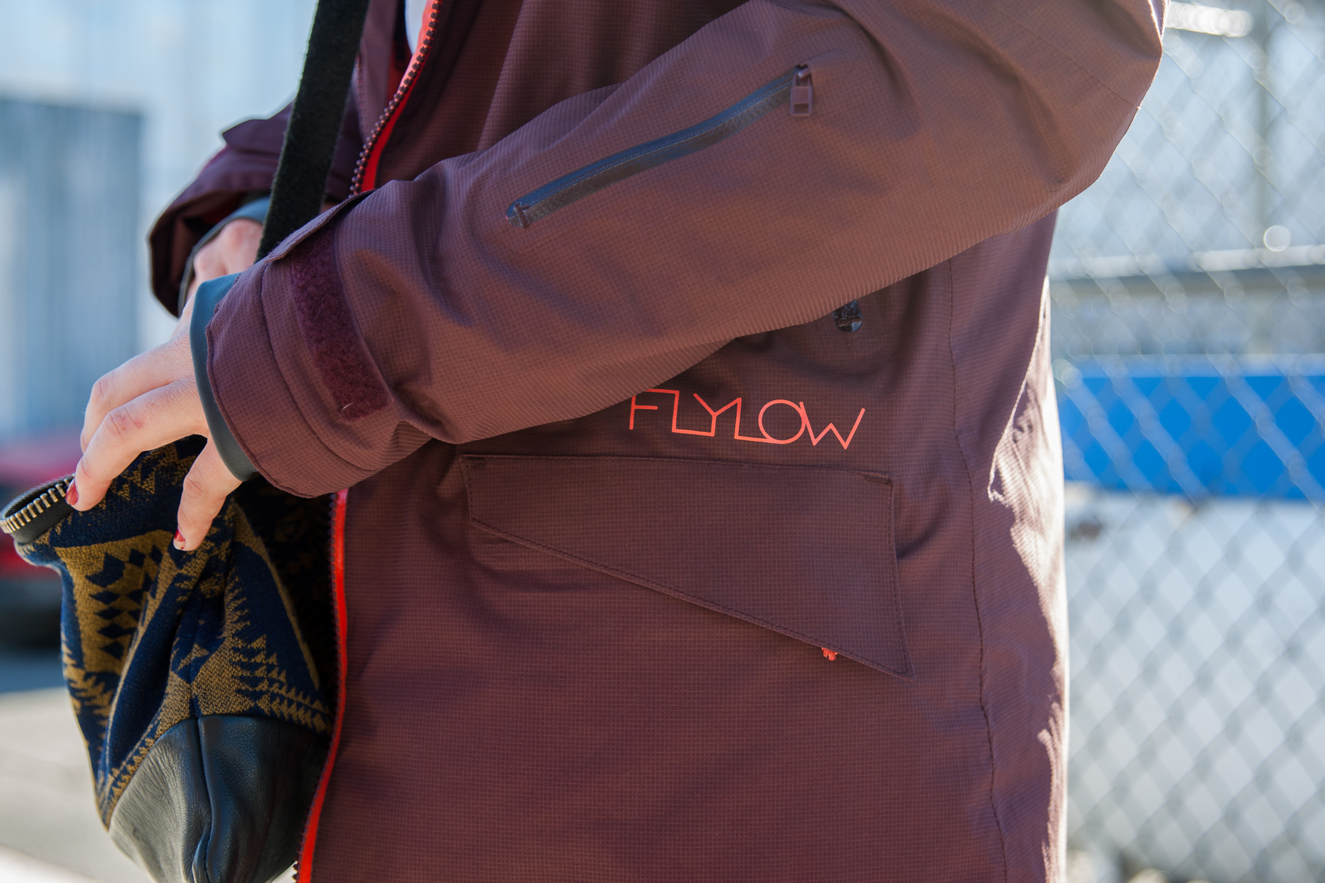 Flylow jacket. Photo: David Reddick