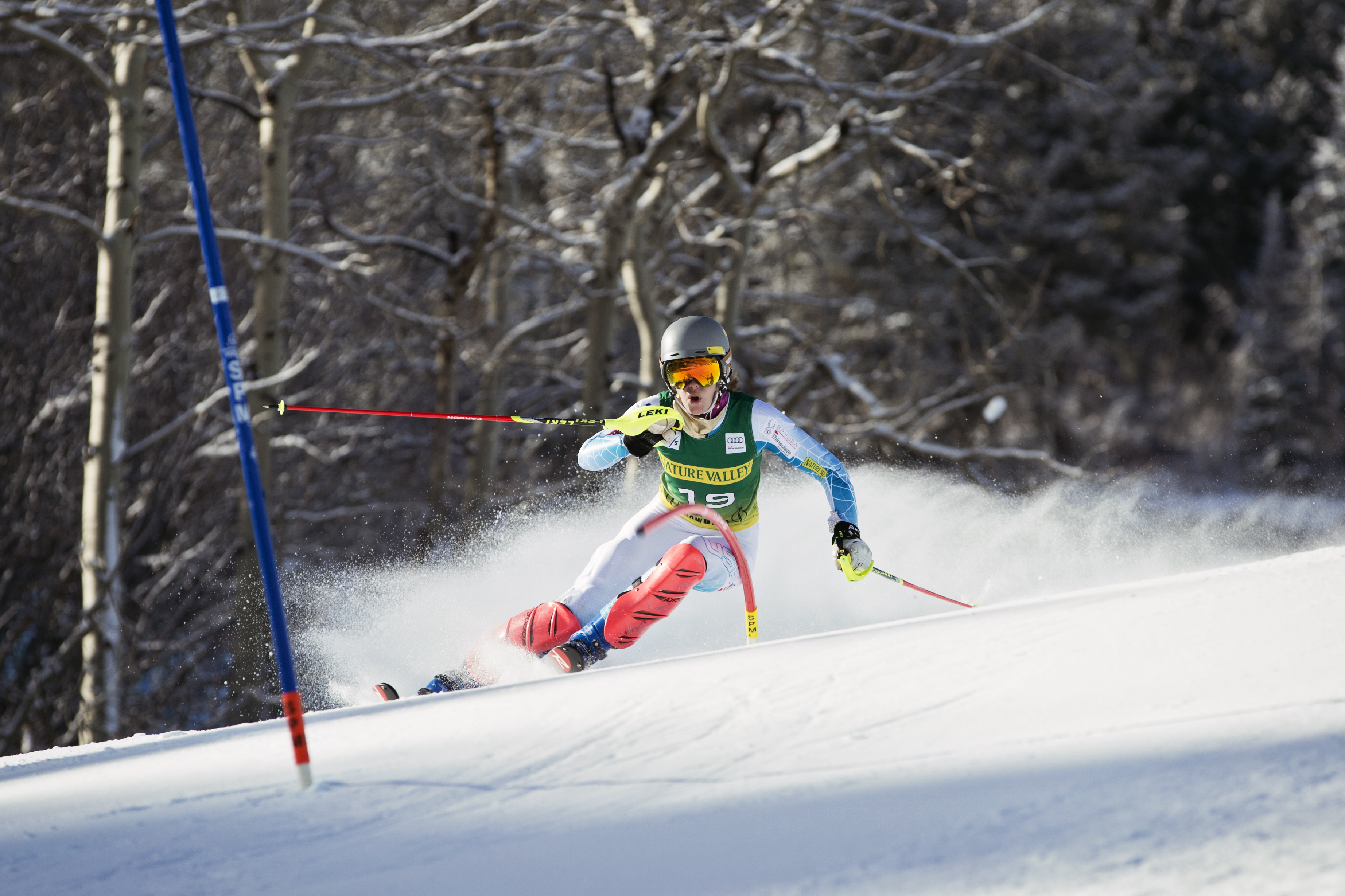 Look for Jackson Hole's Resi Stiegler to use the home-court advantage for a slalom podium. PHOTO: Courtesy of the US Ski Team