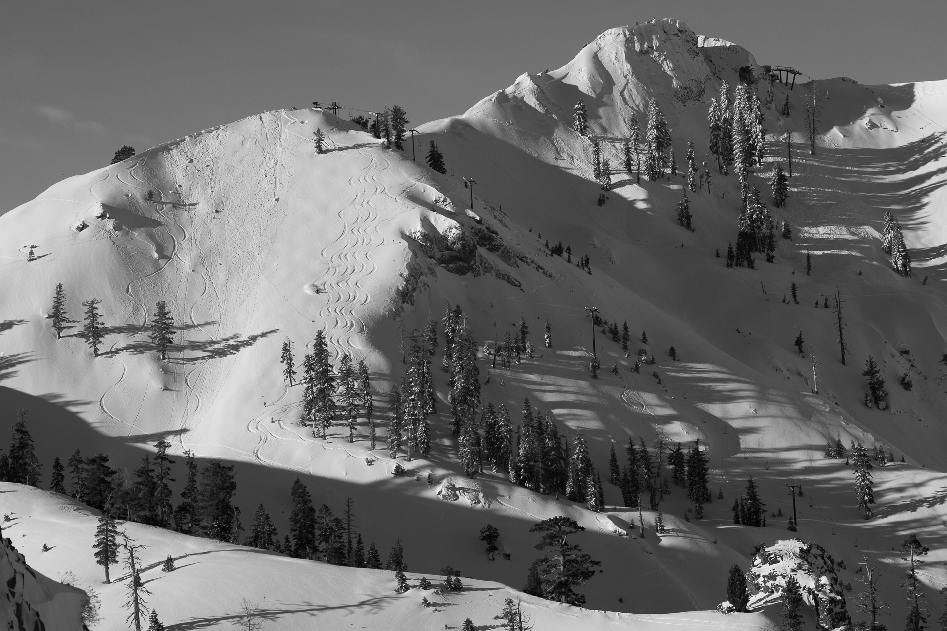 Squaw Valley's proposal to build some 1,500 new condos and hotel rooms, plus retail, restaurants, and an indoor recreation center, across 94 acres at the base of the ski area, was recently approved by the county. Now what?  Photo: Hank de Vré