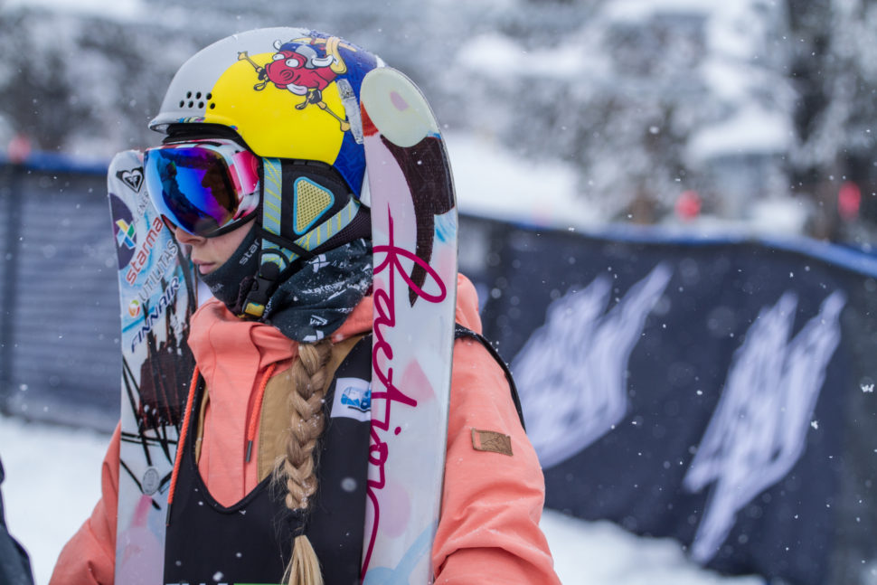 Kelly Sildaru dominated the women's jump competition on day one at Dew Tour.