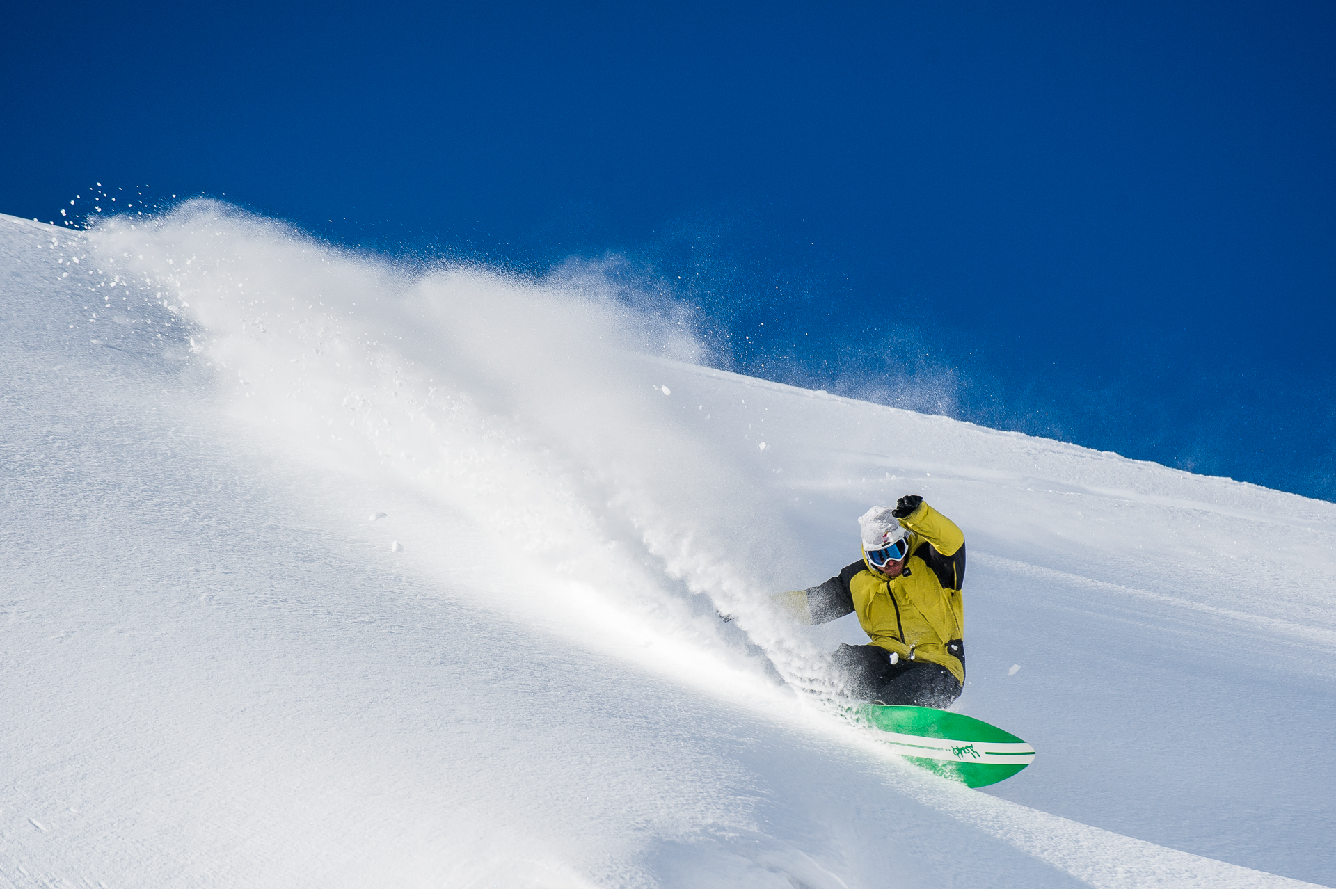 Two planks or one, Pettit is a natural shredder. PHOTO: Blake Jorgenson