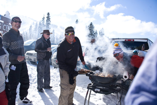 The weekly BBQ in Sugar Bowl's Judah lot keeps the locals fat and happy. PHOTO: Grant Barta