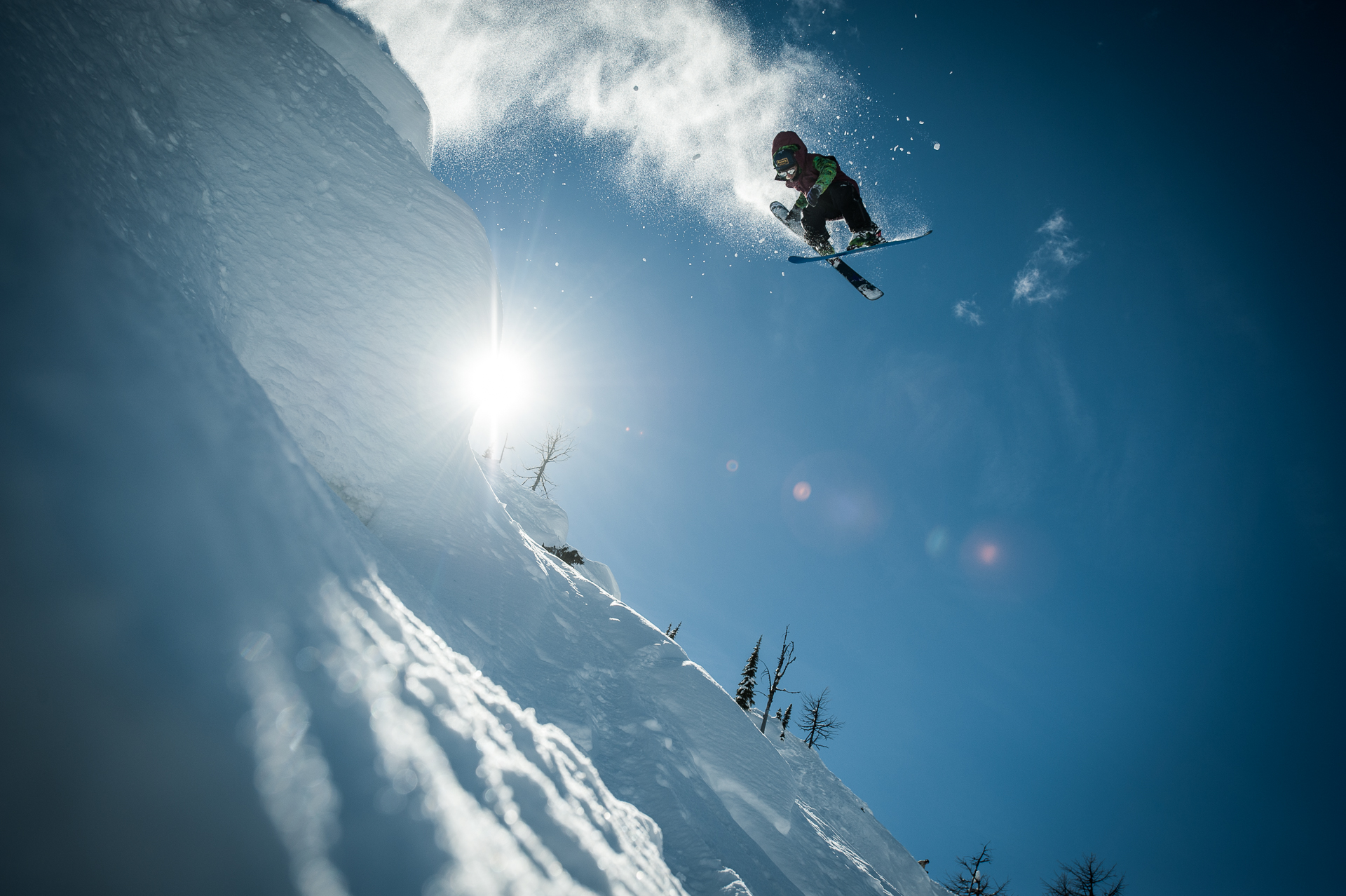 Through his lifetime in the Kootenays, Martin-Prenney knows every nook, cranny, and... Hey, sweet grab! PHOTO: Dave Heath