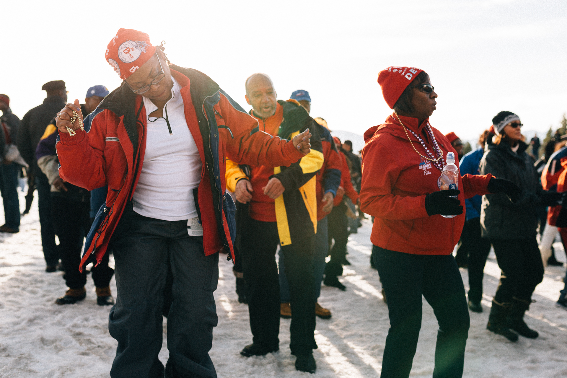 The National Brotherhood of Skiers has annually hosted the largest assembly of black skiers in the country. And it's been a damn good time.