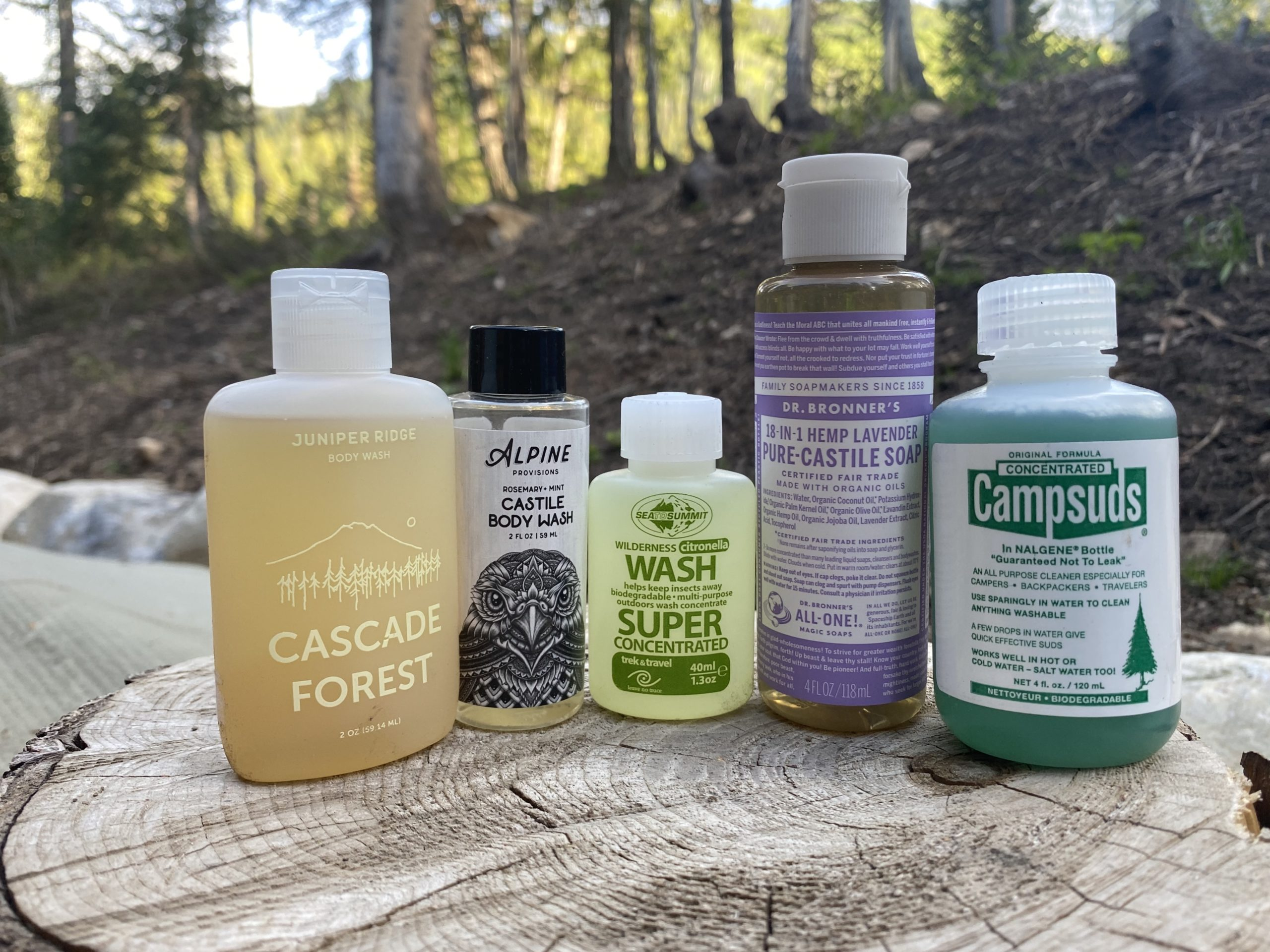 The Best Biodegradable Soaps for Camping