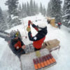 March 2  -Gun 2 Avalauncher mission- Telluride, CO Patrollers -- Jim Greene and Jason Franck